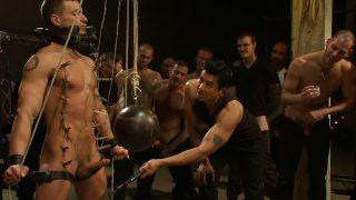 Christian Wilde Boot Worship Adam Knox gets caught in a cum fest