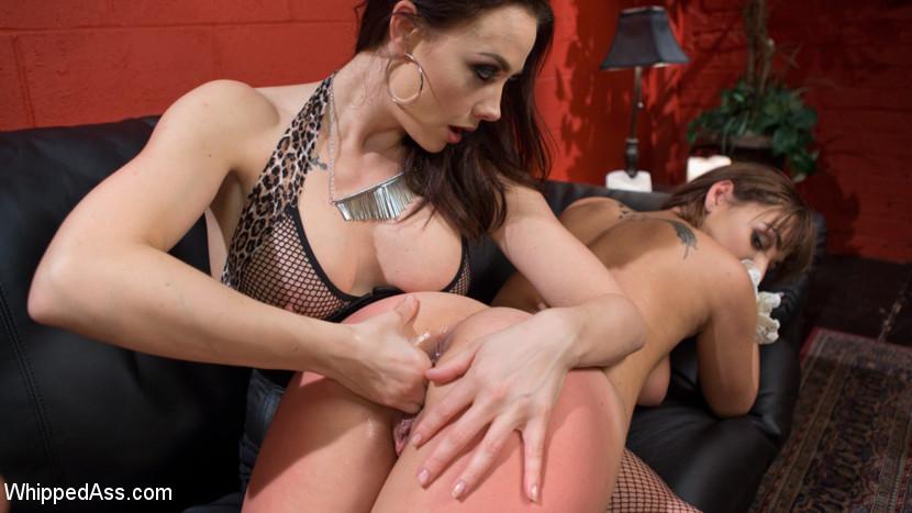 Lesbian Mistress Anal Strapon