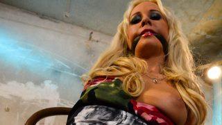 Carla Cox Chair Tied Carla Cox chair-tied cleavegagged tit-grabbed