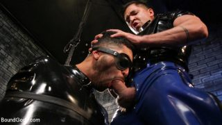 Dominic Pacifico Male Sub Angel Duran Broken In and Stretched Out