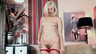 Anna Joy Meaty Lips Anna Joy finds time to strip and masturbate