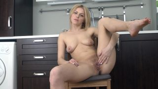 Ayda Puffy Nipples Ayda strips naked in her kitchen with class