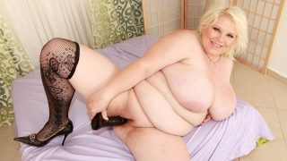 June Kelly Stockings Touchy Feely