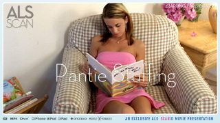 Paris Parker Dildo Pantie Stuffing